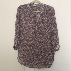 Tops - Floral Tunic/Blouse
